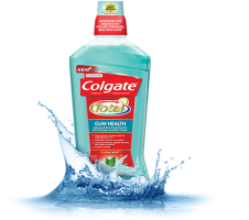 Colgate total mouthwash for gum health