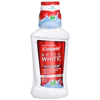 Colgate optic white-white seal mouthwash
