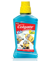 Colgate minions bello bubble fruit mouthwash