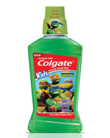 Colgate turtle power bubble fruit mouthwash