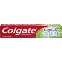 Colgate sparkling white-mint gel