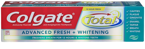 Colgate total-advanced fresh+whitening
