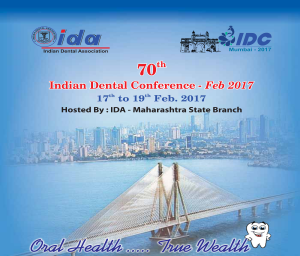70th Indian Dental Conference 2017